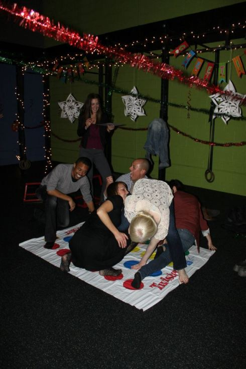 Twister with friends!