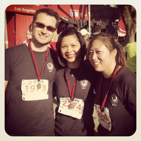 Normand, Griselda & Jane did an awesome job at the 5k!